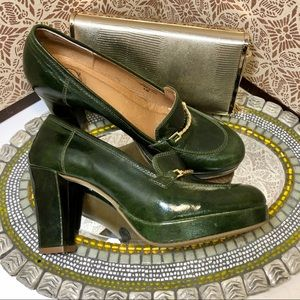Women Lucky Penny for Anthro platforms, sz 7
